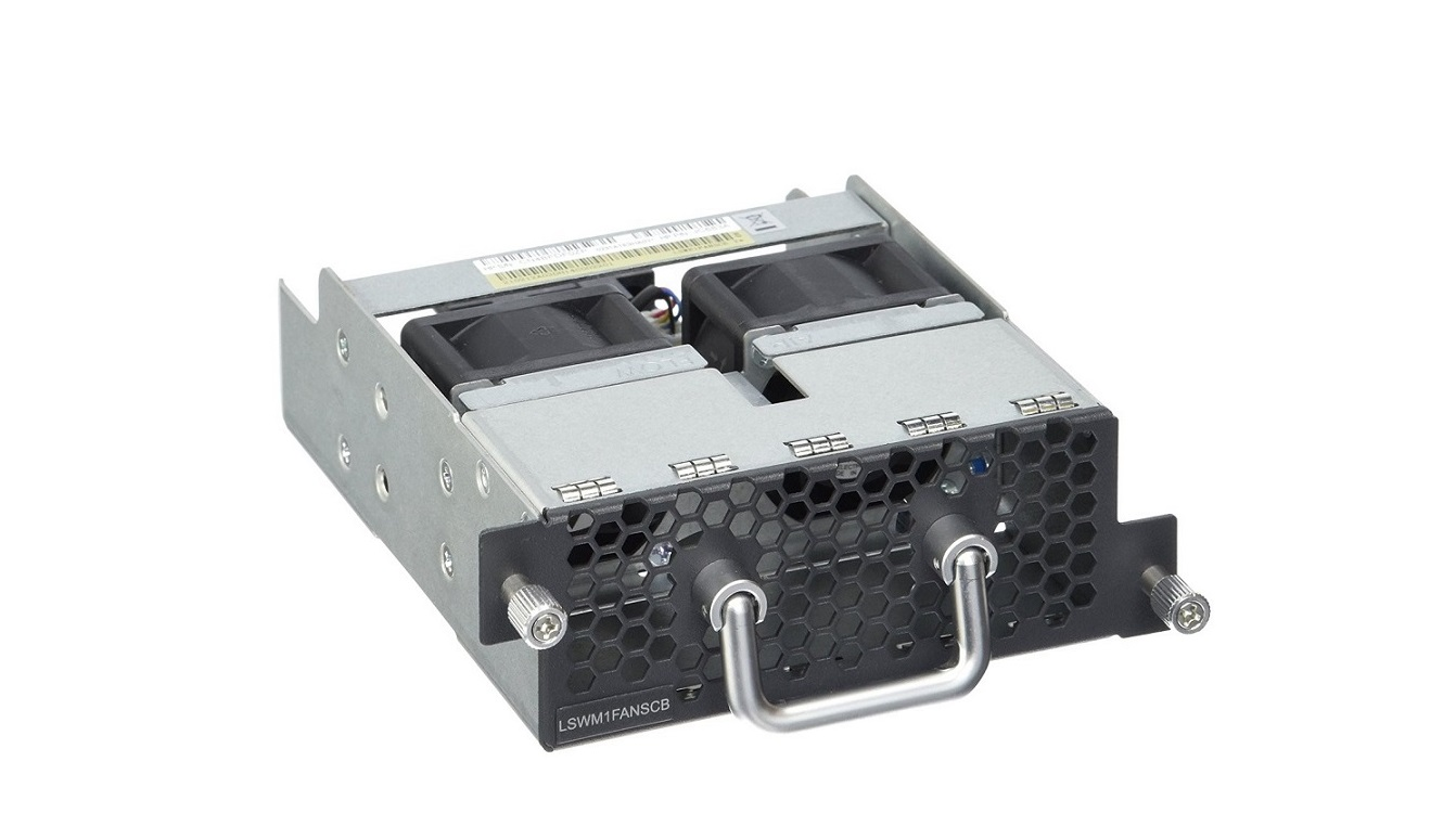 HP 58X0AF A58x0AF Front (Ports) To Back (power) Fan Tray JC683A Network Device Fan Tray