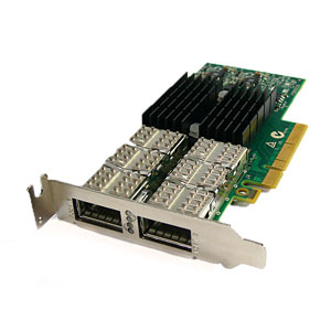 HP InfiniBand Dual Port 544QSFP Network Adapter PCI Express 3.0 x8 2-Ports (LP Bracket) 649281-B21