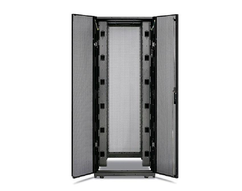 APC NetShelter SX 42U Rack Enclosure 750mm Wide X 1070mm With Sides Black AR3150