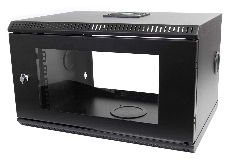 Tripp Lite 6U 19in Wall Mount Server Rack Cabinet With Acrylic Door RK619WALL