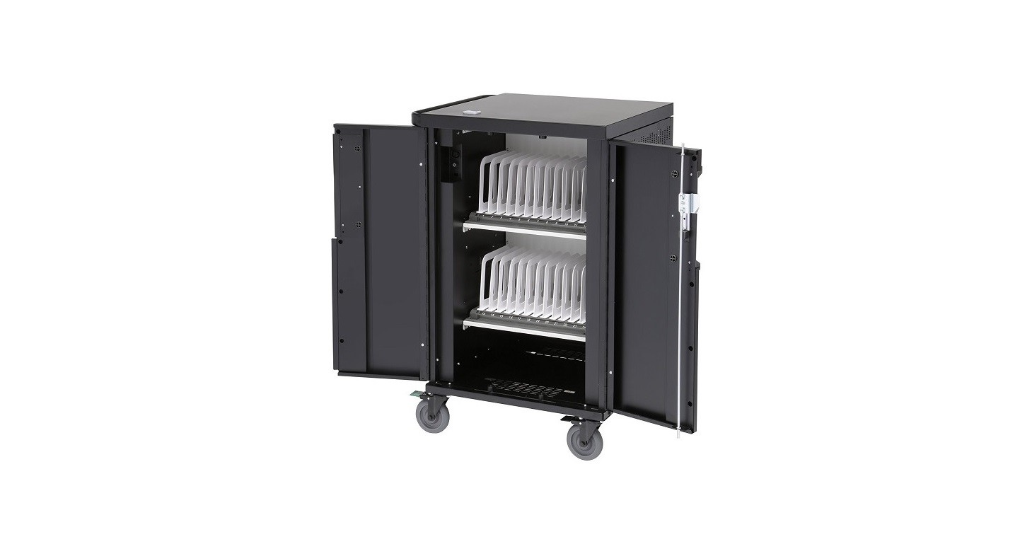 Bretford Corex Charging Cart For 20 To 24 Moblie Devices TCOREX24