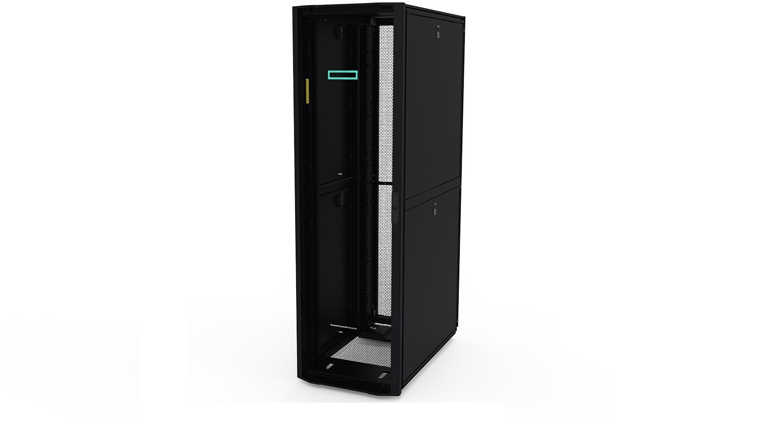 HP P9K18A 42U 800x1200mm Black Advanced G2 NetWare Shock Rack Black P9K18A