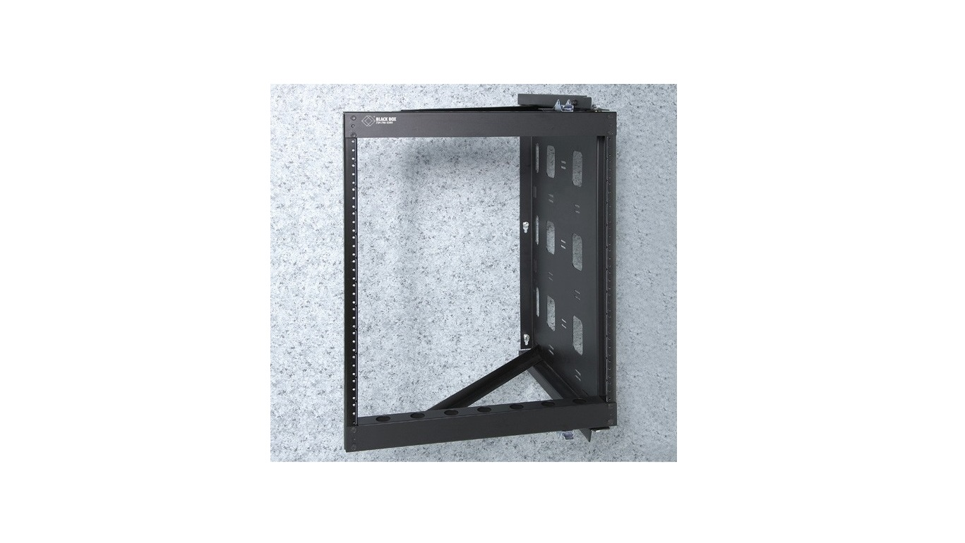 Black Box 20U 10-32 Tapped Rails Holes Wallmount Rack RMT072A-R2