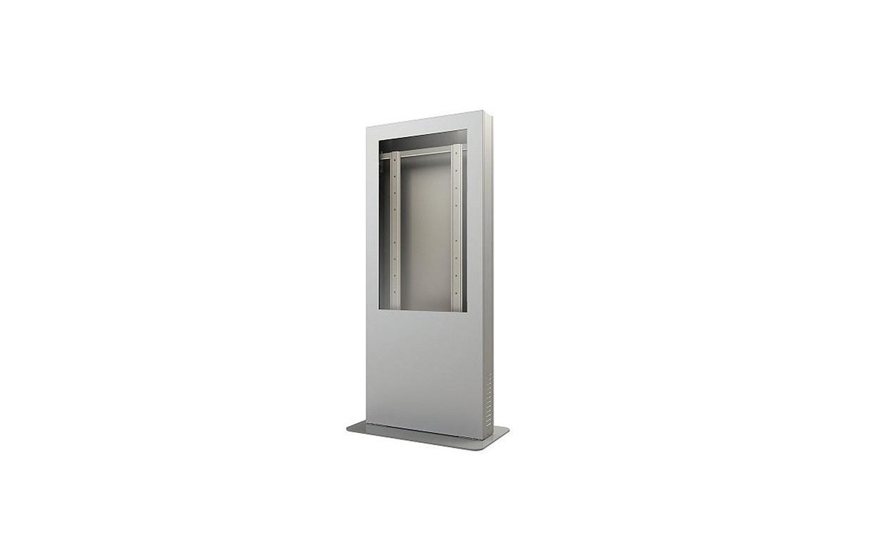 Peerless Portrait Kiosk Enclosure Silver Up To 42 Displays KIP542-S