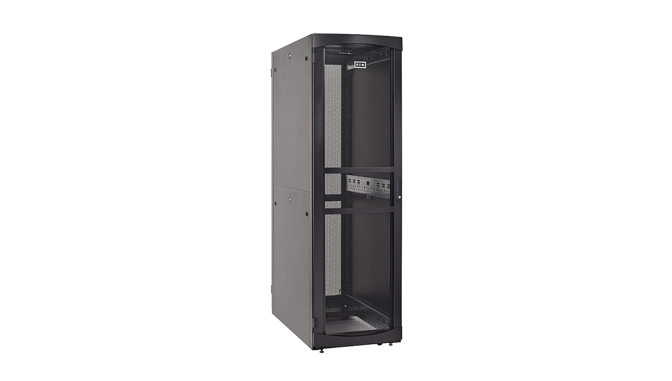Eaton RS Enclosure 42U Black Rack Cabinet RSV4261B