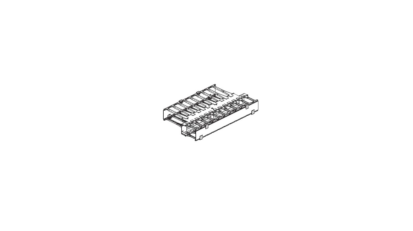 CPi 2 Rmu 19x11.73 Universal Horizontal Cable Manager 30530-719