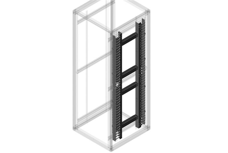 CPi 13171-700 Enhanced Vertical Cable Manager Kit For Megaframe