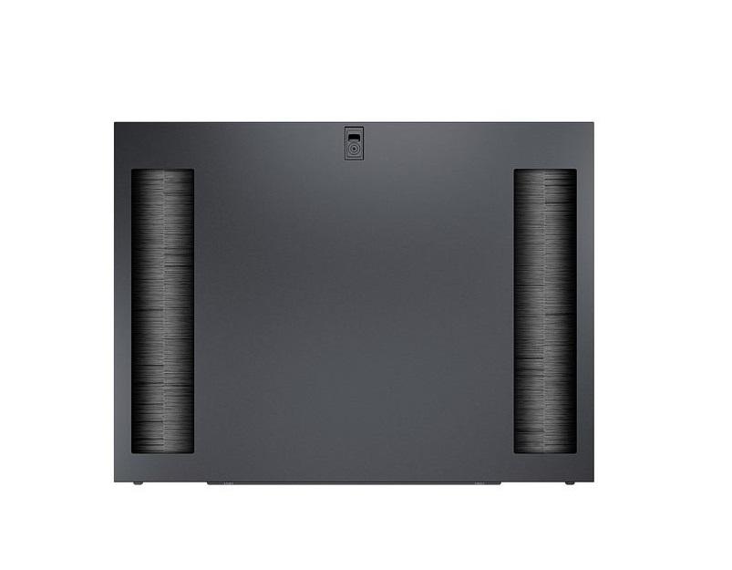 Schneider Electric AR7314 NetShelter SX 48U 1200 Split Feed Through Side Panels Black 2-Pack