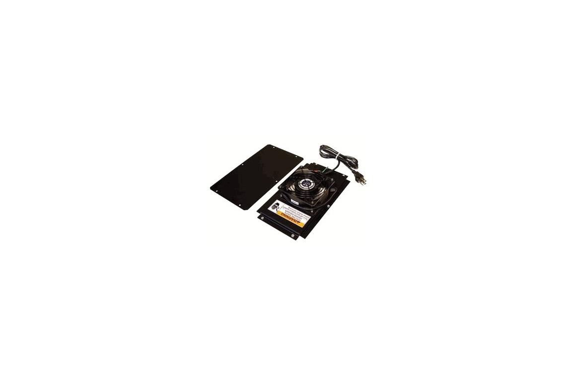 Chatsworth Cpi 12804-701 Fan Kit For Cube-IT Black