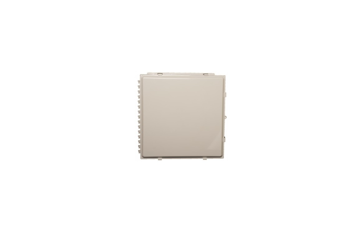 Acceltex 24x24x10 Polycarbonate Enclosure With Solid Door ATS-242410P-S-L-NC