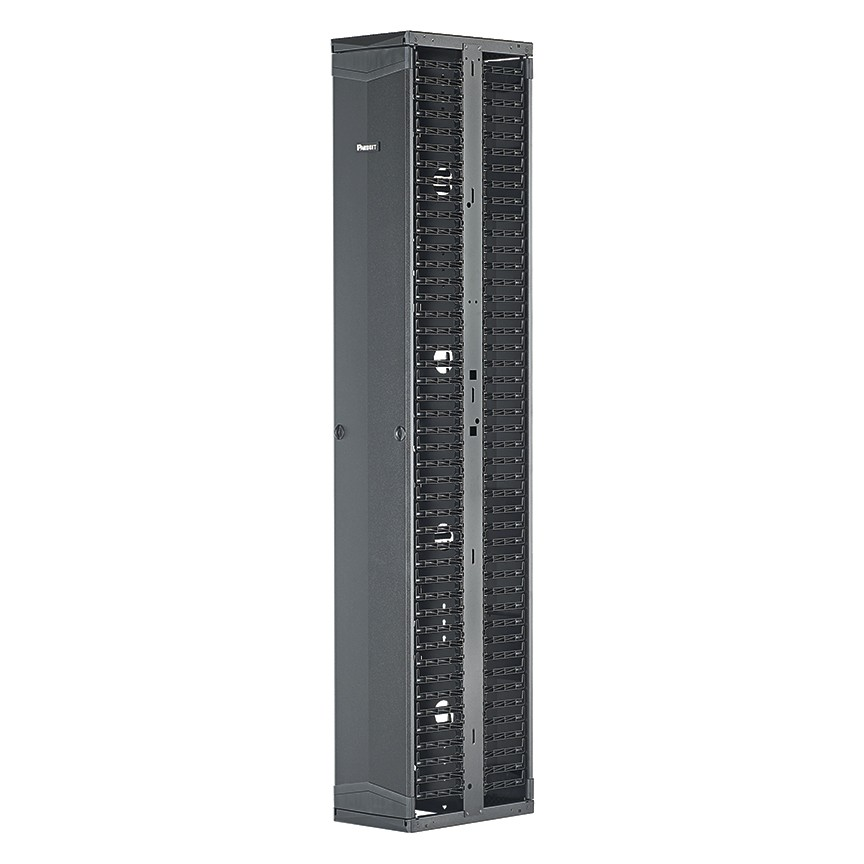 Panduit PR2VD10 45RU Dual Sided Vertical Cable Manager