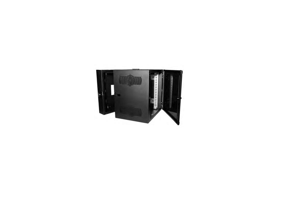 Chatsworth CUBE-iT Gen 3 Wall-Mount 36x24x24 19U Cabinet Black 11900-736