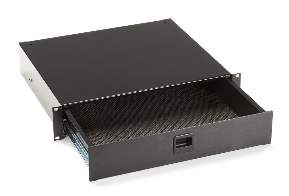 Black Box Rackmount Media Storage Drawer 19 2U RMMT17
