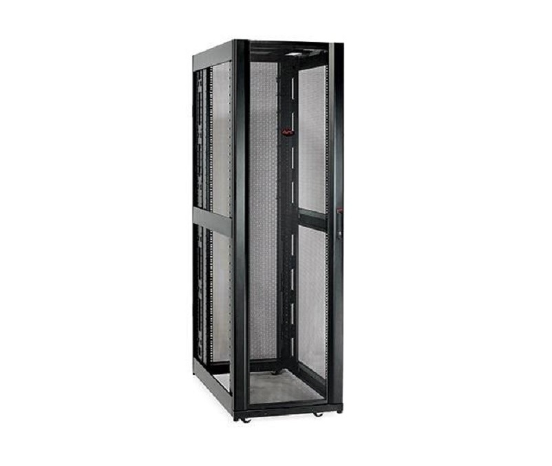 APC NetShelter SX 48U Deep Enclosure Without Sides Black AR3357X609