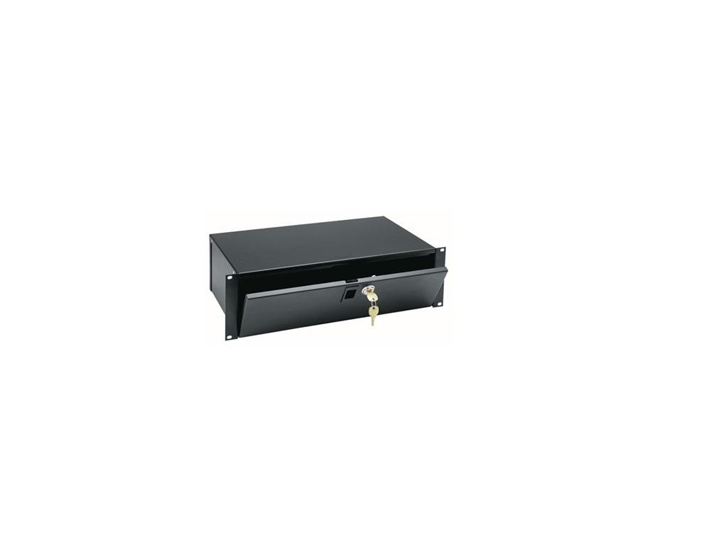 Middle Atlantic LBX-3 3RU Lockbox Black