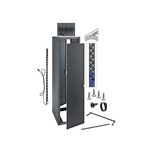 Middle Atlantic 35U Erk 19 With Two Power Distribution Unit (10-out 20) Rack Enclosure ERK-3525-AV