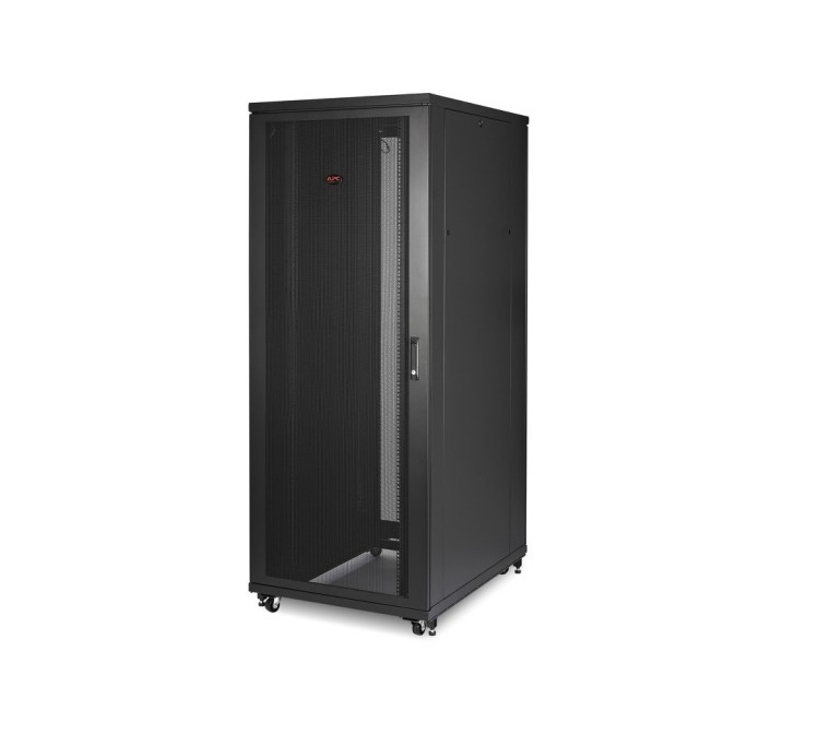 Apc Netshelter Sv 48U Deep Enclosure With Sides Black Cabinet AR2487