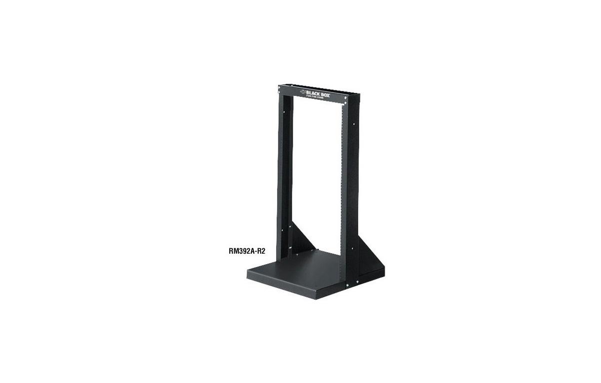 Black Box Steel 21x21 20U 2-Post Rack Distribution RM392A-R2