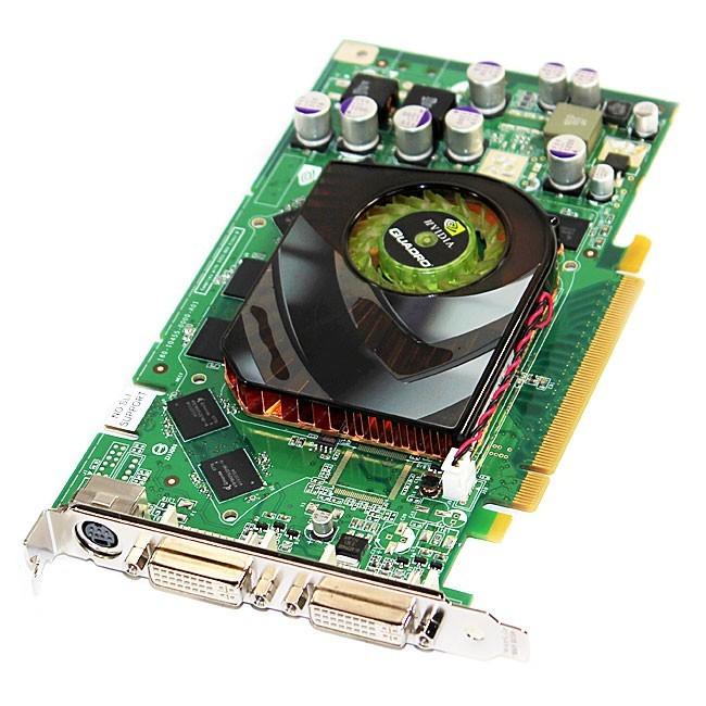 Hp 256MB Nvidia PCI-E x16 Quadro FX1500 Dual 400MHz Ramdac GDDR3 413109001 413109-001