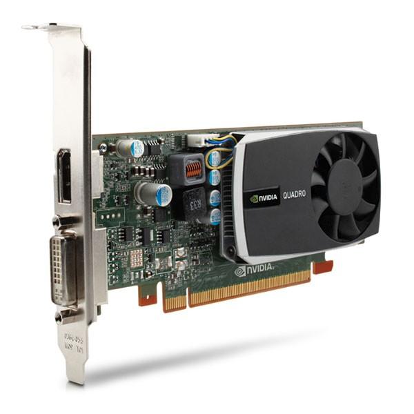 1GB HP Graphics Adapter Quadro 600 PCI Express 2.0 x16 Low Profile GDDR3 DVI DisplayPort WS093AA